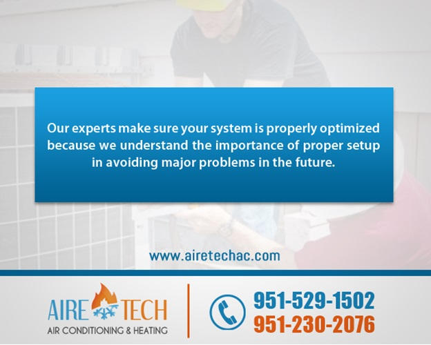 heating replacement service in Moreno Valley CA